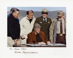 Bill Clinton Signing Legislation at Grand Canyon National Park