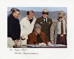 Bill Clinton Signing Legislation at Grand Canyon National Park