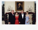 Sam Farr with George and Laura Bush by Paul Morse