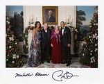 Sam Farr and His Wife Shary with Barack and Michelle Obama