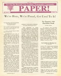The Paper, Vol. 1 No. 2 by Monterey County AIDS Project