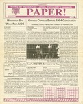 The Paper, Vol. 1 No. 3 by Monterey County AIDS Project